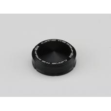 Rear Brake/ Clutch Reservoir Cap for BREMBO S15 OEM Type - Black