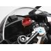 Brake Reservoir Cap for BREMBO OEM Round 2-screws - Red