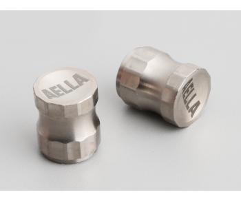 Titanium Air Valve Cap - Long Type ( 1 Pair )