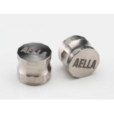 Titanium Air Valve Cap - Short Type ( 1 Pair )