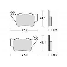 773CM56 Street Sintered Brake Pad