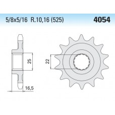 4054K Front Steel Sprocket #525 T-14