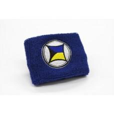 Brake Reservoir Wristband Trade Logo Blue