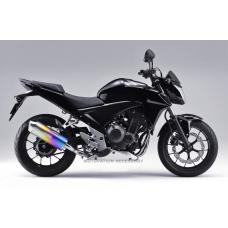 HONDA CB400X 2013-2018 MX ANO TITANIUM SLIP-ON