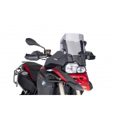 ADJUSTABLE SCREEN FOR BMW F800GS ADVENTURE 2013-2018 - SMOKE